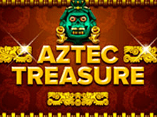 Онлайн клуб Вулкан Удачи и аппарат Aztec Treasure