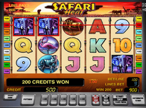 Играть онлайн в Safari Heat в Вулкан Удачи